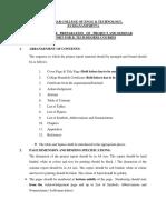 Seminar &Project Reportguidelines