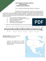 Guía Para Examen de Historia de México