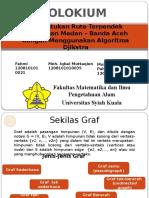 Menentukan Rute Terpendek Perjalanan Medan Banda Aceh