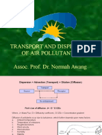 Transport and Dispersion of Air Pollutants by Dr Normah