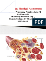 Haematology Physical Assessment