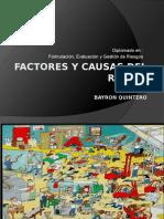 Factores y Causas de Riesgo
