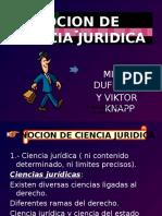 Nocion de Ciencia Juridica