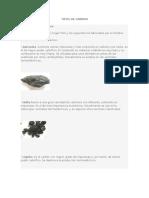 Tipos de Carbon