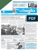 Edición Impresa El Siglo 08-05-2016