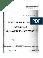 Buenas Practicas de Radiofarmacos