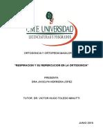 Tesina Respiración Ortopedia METODOS