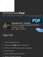 Orchestrated Fuel SAP Software for Petroleum Companies