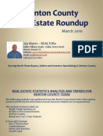 Denton County Real Estate Roundup March 2010