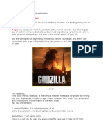 Islamic Article - Will You Ever Turn Into a Godzilla in Rage