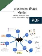 Números Reales (Mapa Mental)