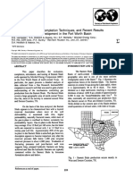SPE24884-Reservoir Evaluation, Completion Techniques, And Recent Results From Barnett Shale Development in the Fort Worth Basin