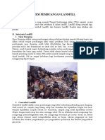Sistem Pembuangan Landfill