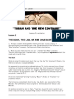 """""""The Book, the Law, the Covenant"""""""