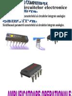 Anexa Amplificatorul operational caracteristici.ppt
