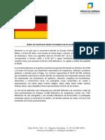 Perfil Logistico de Alemania