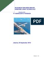 Proposal Pemetaan Wilayah Banjir Dengan LiDAR