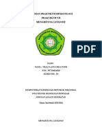 Menghitung Leukosit Paper
