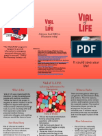 vial of life pamphlet