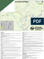 Kalamunda Mountain Bike A4 Trail Map&Guide2016