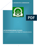 Entrepreneurship Studies