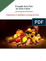 Végétarisme Et Végétalisme Au Temps de Jésus L'Évangile de La Paix de Jésus Jys