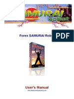 Forex Samurai Robot Users Manual