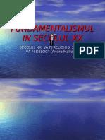 Fundamentalismul in Secolul Xx