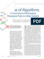 2011_The Use of Algorithms in Assessing and Managing Persistent Pain