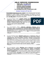 FPSC Advt_ No_5-2016