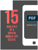15 Qualities of a Superb Mobile App Tester