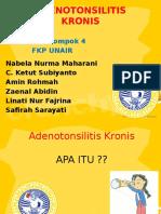 Flip Chart PKRS Adenotonsilitis Kronis