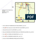 Driving Directions - Sky Harbor