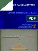 5 Struktur Rangka Batang Metode Cremona