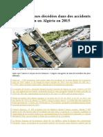 Algérie - Les accidents de la route.docx