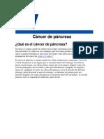 Cancer de Pancreas Fisio