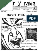 Amor y Rabia Nr. 48 - MAYO DEL 68