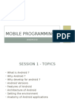 Android Intro Slide