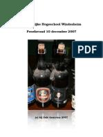 2007-12 Windesheim  Proefavond