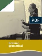 Manual Aula de Galego 4 Resumo Gramatical