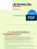 GST- Registration Process by CA. RAJAT MOHAN