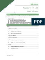 RPi LCD User Manual