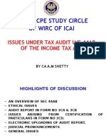 Accounting of Taxes MAT