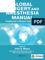Global Surgery and Anesthesia Manual (Dragged)