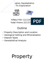 Applied Geostatistics Presentation