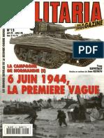 Armes Militaria Magazine Hs No12 - La Campagne De Normandie (I) 6 Juin 1944, La Premiere Vague.pdf