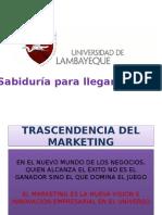 Trascendencia Del Marketing
