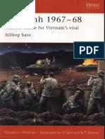 Ebook (Inglish) @ History @ Osprey + Campaign - 150 Khe Sanh 1967–1968. Marines Battle for Vietnam's Vital Hilltop Base.pdf