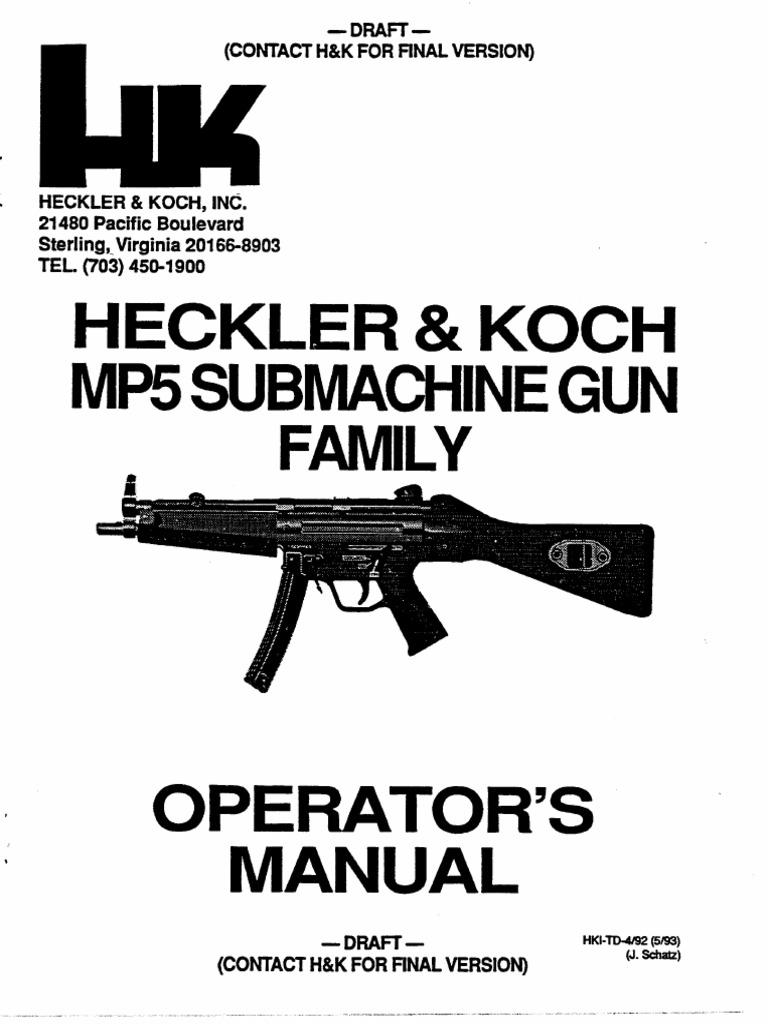 HK MP5 Submachine Gun Family Operator's Manual.pdf