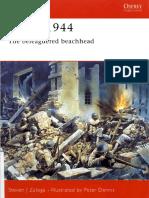 Ebook (Inglish) @ History @ Osprey + Campaign - 155 1944 - Anzio + The Beleaguered Beachhead.pdf
